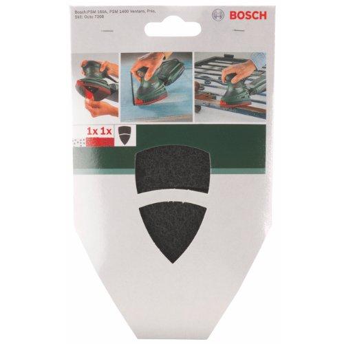 Bosch DIY Reinigungsvlies + Zusatzblatt (für Multischleifer verschiedene Materialien, 102 x 62/93 mm, Körnung mittel/fein)