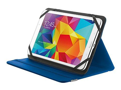 Trust Primo Etui Tablet Schutzhülle mit integriertem Ständer für 20,3 cm (8-Zoll) Tablet blau