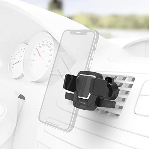 Hama Comfort Vent Auto Passive Halterung Schwarz - Halterungen (Handy/Smartphone, Auto, Passive Halterung, Schwarz, Kunststoff, Horizontal/Vertical)
