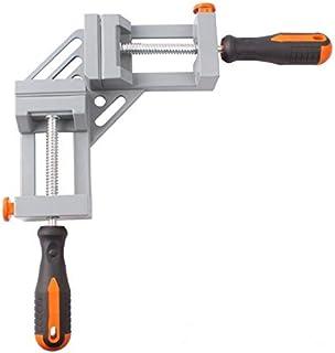 コーナークランプ 90度 ダブルハンドル クランプ 溶接 固定板幅 調節可能 木工用 ツール