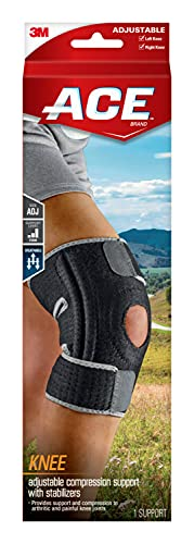 ACE Adjustable Knee Brace with Side Stabilizers...