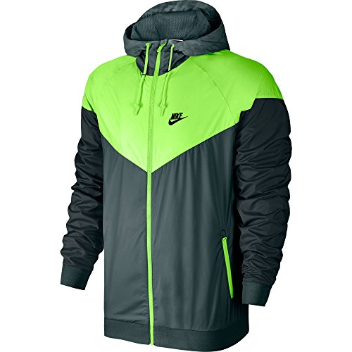 Nike M NSW Windrunner - Coupe-Vent Homme, Couleur Vert, Taille 2XL