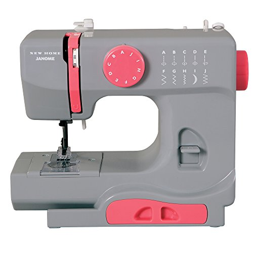Janome Graceful Gray Basic Compact Sewing Machine