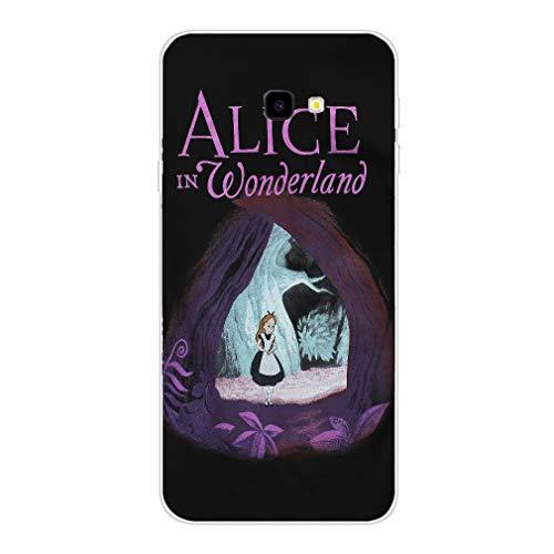 rebecc Alice in Wonderland TPU Transparent Phone Case for Cover Samsung Galaxy S8 Edge Clear-Case-290