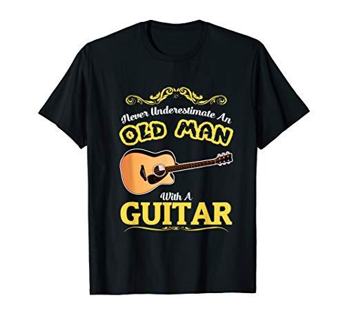 Gitarre T-Shirt Musiker Geschenkidee für Gitarristen