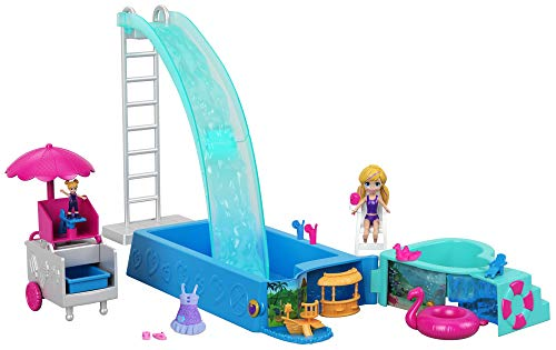 Polly Pocket FTP75 waterplezier verrassing