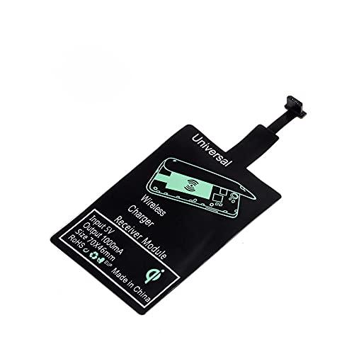 WEIYOU Receptor de carga inalámbrico Chip receptor de carga inalámbrico adecuado para USB-A USB-B Type-c Compatible iPhone interfaz de carga (USB-A)