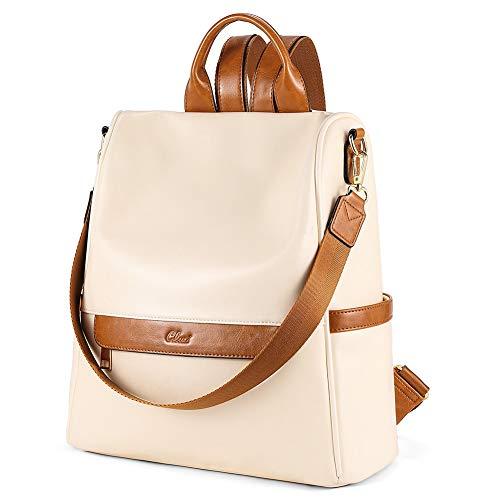 CLUCI Womens Backpack Purse Fashion Leather Ladies Travel Bag Larger Designer Convertible Shoulder Bags
