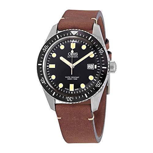 Oris Divers SixtyFive Steel 73377204054LS - Orologio da uomo con cinturino...