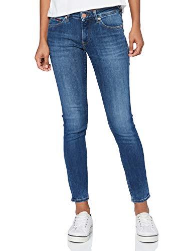 Tommy Jeans Sophie LR Skny Hldbst Vaqueros, Harlow Dark Blue, W25 / L30 para Mujer