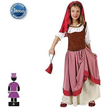 Disfraz de Posadera Marrón para niña: Amazon.es: Juguetes y juegos