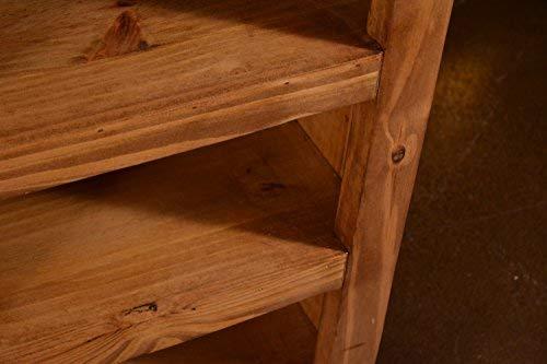 "Westgate Rustic Wood 66"" Sliding Barn Door TV Stand / Media Console"