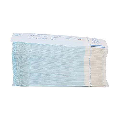 200Pcs Box Buste per sterilizzazione autosigillanti, buste autosigillanti, buste per sterilizzazione dentale 57 x 130mm, buste per sacchetti dentali Accessori per strumenti di pulizia - Sterilizzazion