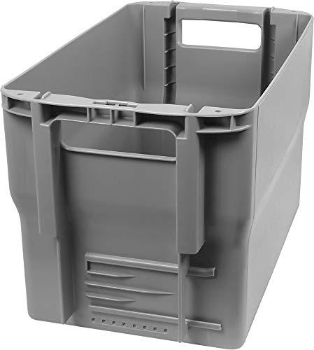 normani Postkiste Briefbehälter Typ 2 Stapelbox Postbehälter mit Einsteckfach Größe 1 Stück