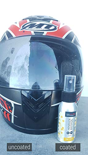 41ckVqQ7ITL - Hendlex Anti Fog Spray for Goggles, Car Windshield Treatment and Bathroom Mirror Multi Purpose and Long Lasting 3.38