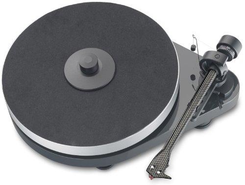 Pro-Ject RPM 5.1 - Tocadiscos (pastilla Ortofon 2M Red), color antracita/gris