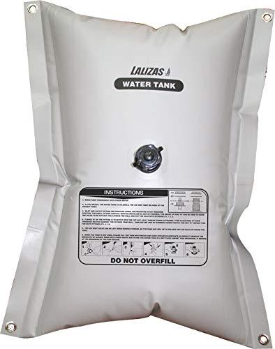 55l Flexibler Kunststoff Wassertank 600x740 viereckig Fitting