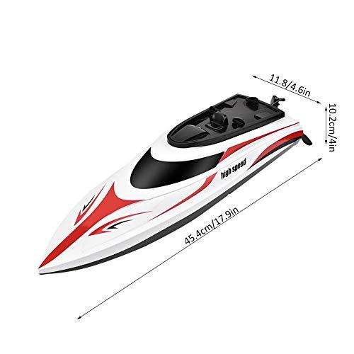 RC-Modellboot, Mini Boat Racing Speedboat-Modell Spielzeug Geschenk für Kinder