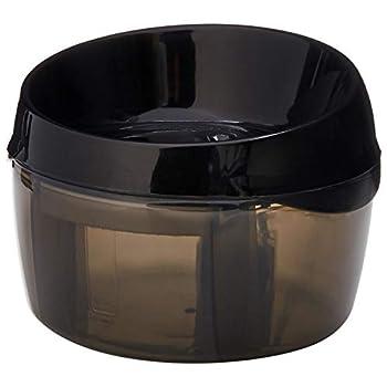 Amazon Basics Pet Fountain - Round Black