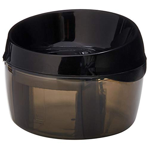 AmazonBasics Pet Fountain - Round, Black