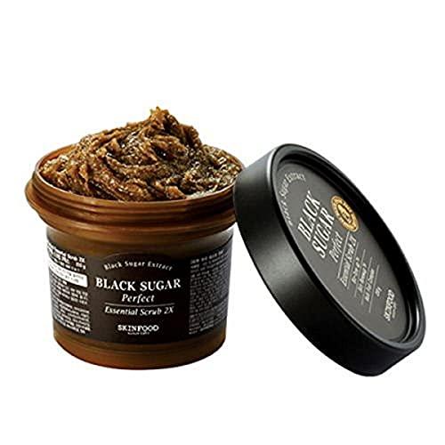 THE SKINFOOD Black Sugar Perfect Essential Exfoliant 2x