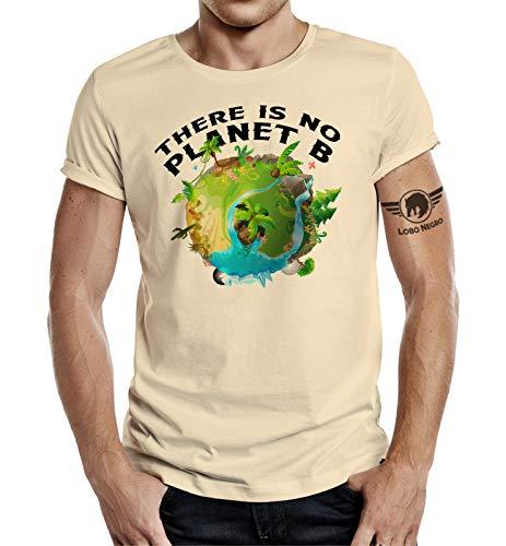 Preisvergleich Produktbild T-Shirt für Naturliebhaber: Planet B XL