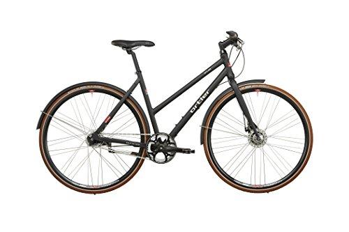 Ortler Gotland Damen schwarz matt Rahmengröße 54 cm 2016 Cityrad