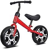 12 pulgadas adecuado para 2-6 años de edad Equilibrio bicicleta de acero de alto carbono sin pedal caminar equilibrio deportes entrenamiento portátil bicicletas de equilibrio