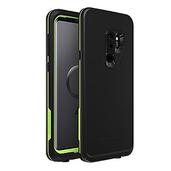 LifeProof FRĒ Series Waterproof Case for Samsung Galaxy S9+ - Retail Packaging - Night LITE  Black/Lime