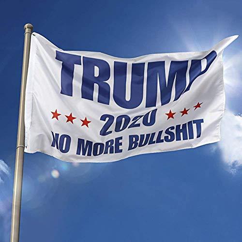iMixCity Donald Trump Flag 2020 Drapeaux D'élection du Président Trump Garder l'Amérique Grande décoration Bannière 90 * 150cm (C, 90 * 150CM)