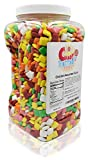 Chiclets Chicle Tabs Assorted Gum in Jar, 6 Lbs