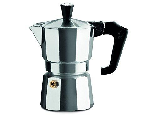 Pezzetti Espressokocher Bellexpress 1 Tasse Aluminium