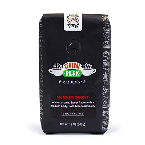 'Friends' 25th Anniversary Limited Edition Central Perk Medium Roast Ground Coffee 12 oz Bag