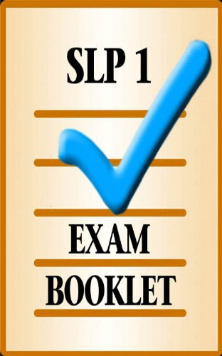 SLP Exam Booklet 1 English Edition