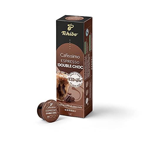 Tchibo Cafissimo Espresso Double Choc Kaffeekapseln, 10 Stück, nachhaltig & fair gehandelt, Flavoured Edition, Premium Qualität