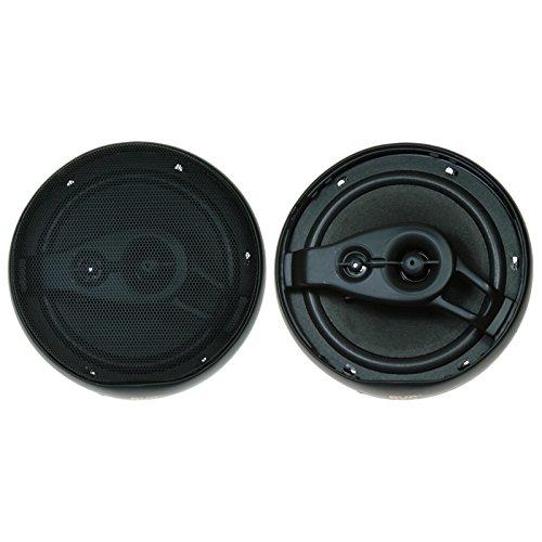 BVC - AV1680 - Altavoces coaxiales para Coche de 100 W (3 vías, 91 dB) 16 cm.