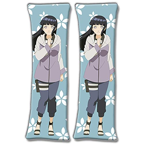 ARRISLIFE Naruto Hinata Hyuga Body Funda de Almohada Print Body Funda de Almohada 150x50cm(59inx19.6in) Peach Skin