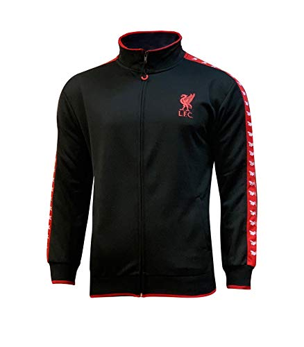 Icon Sports Boys Liverbird Full-Zip Track Jacket UEFA Champions League Soccer Liverpool, Alt, Medium