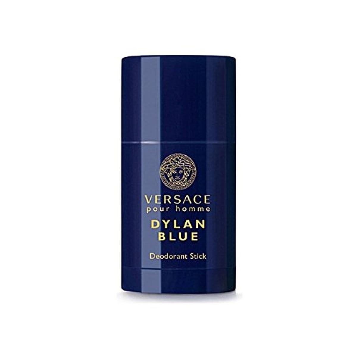 怒りもろい達成可能Versace Dylan Blue Deodorant Stick 75ml - ヴェルサーチディランブルーデオドラントスティック75ミリリットル [並行輸入品]