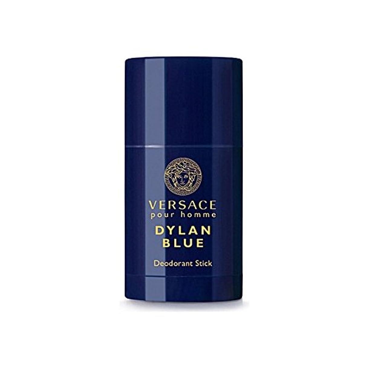 から聞く所有権植物のVersace Dylan Blue Deodorant Stick 75ml - ヴェルサーチディランブルーデオドラントスティック75ミリリットル [並行輸入品]