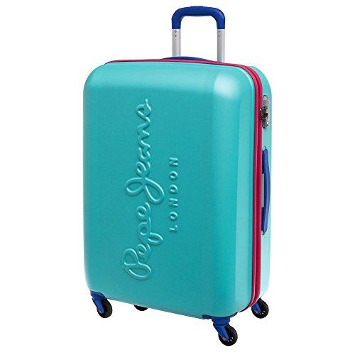 Pepe Jeans 7498854 Tricolor Maleta, 78 litros, Color Azul