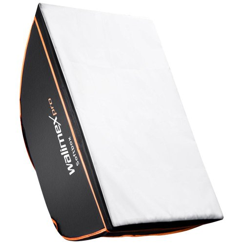 Walimex Pro Softbox Orange Line 75x150 - Accesorio para cámara (2.16 kg, 420 mm, 750 mm, Negro, Color Blanco)