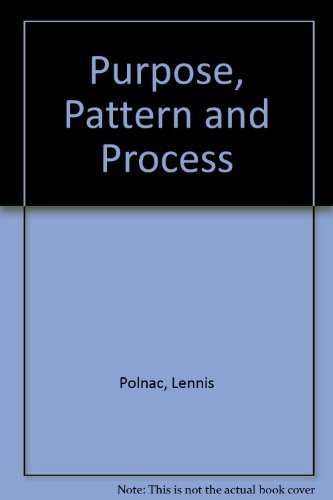 Download Purpose, Pattern and Process 0787295817