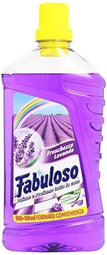 Fabuloso Detergente per la Pulizia della Casa al Profumo di Lavanda - 1000 ml