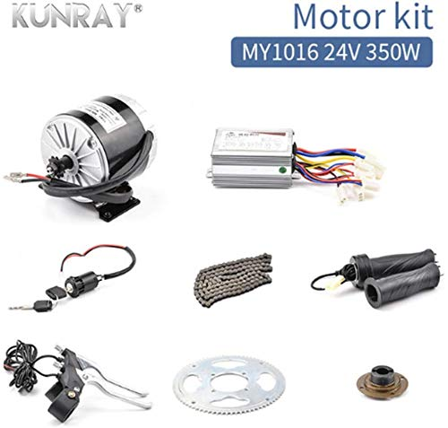Fantastic Deal! scooter 24V DC 350W DIY Electric Kit Electric Skateboard DIY Kit Motor E Bike Bicycl...