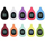 HWHMH Classic Pack/Deluxe Rainbow Pack/Olympic Rings Pack Accessory Replacement Clip for Fitbit Zip Only (No Tracker) (10pcs Classic Pack)