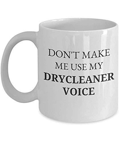 Laat me niet mijn chemische reinigingsmiddel-stemkoffiemok gebruiken, de vriend-geschenk-paar beker-cadeau schoonmaken