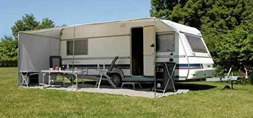 Eurotrail Verstellbares Sonnensegel 660 x 240 cm für Wohnwagen Größe 820-860 cm