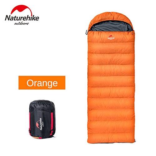 Daunenschlafsack im Freien kampierender Winter dicke warme Entendaune ultraleichten tragbaren Schlafsack NH15S007-D
