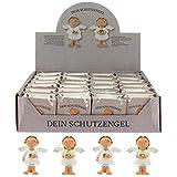 MIK Funshopping Schutzengel in Tüte 2-Fach Sortiert, 24er Display, Glücksbringer (weiß)